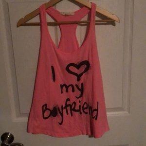 I 💗 my boyfriend tank